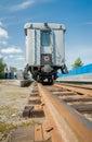 Tyumen children railroad. Russia Royalty Free Stock Photo