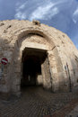 Tzion gate of the old city Jerusalem Royalty Free Stock Image