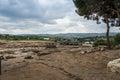 Tzipori archeological site sepphoris in israel Stock Image