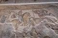 Tzipori archeological site sepphoris in israel Stock Photos
