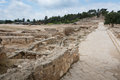 Tzipori archeological site sepphoris in israel Royalty Free Stock Photography