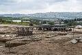 Tzipori archeological site sepphoris in israel Stock Photo