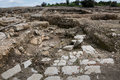 Tzipori archeological site sepphoris in israel Royalty Free Stock Images