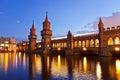 Oberbaum bridge - Berlin Royalty Free Stock Photo