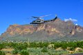 U s customs border patrol helicopter flying low casa grande arizona yuma patroling mexican us boarders department of homeland Stock Photos