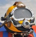 U.S. Navy Diving Helmet Royalty Free Stock Photo
