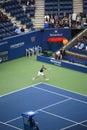 U.S. Open Tennis - Gilles Muller Stock Image
