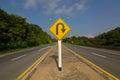 U-Turn Roadsign Royalty Free Stock Photo
