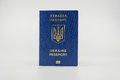 UA passport Royalty Free Stock Photo