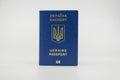 UA passport Royalty Free Stock Photo
