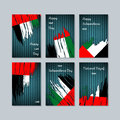 UAE Patriotic Cards for National Day.