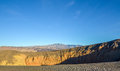 Ubehebe crater death valley in national park california Royalty Free Stock Image