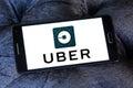 Uber taxi logo