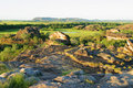 Ubirr Art Site and Lookout. Kakadu Australia Stock Image