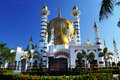 Ubudiah Mosque Royalty Free Stock Image