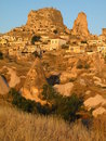 Uchisar, Cappadocia Royalty Free Stock Photos