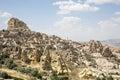 Uchisar in Cappadocia, Nevsehir, Turkey Royalty Free Stock Photo