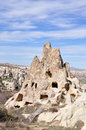 Uchisar Cappadocia in Turkey Stock Photography