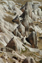 Uchisar view - Cappadocia Royalty Free Stock Photo