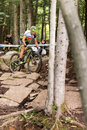 Uci world cup cross country mont ste anne b quebec canada august men elite nd place esp hermida ramos josé antonio on aug Stock Image