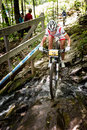 Uci world cup cross country mont ste anne b quebec canada august women elite nd place pol wloszczowska maja on aug Stock Photos