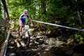 Uci world cup cross country mont ste anne b quebec canada august women elite st place cze nash katerina on aug Stock Image