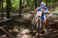 Uci world cup cross country mont ste anne b quebec canada august women elite st place cze nash katerina on aug Royalty Free Stock Photo
