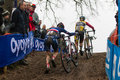 UCI World Cup Cyclocross - Hoogerheide, Netherlands Royalty Free Stock Photo