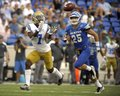 UCLA Wide Receiver Royalty Free Stock Photo