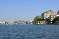 Udaipur and lake pichola rajasthan india also known as the city of lakes is a city a municipal corporation the administrative Royalty Free Stock Image