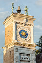 Udine, the clock tower Royalty Free Stock Photography