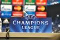 Uefa champions league match between fc shakhtar donetsk vs fc bayern münchen round of first leg arena lviv lviv city ukraine Royalty Free Stock Images