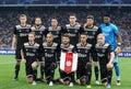 UEFA Champions League play-off: FC Dynamo Kyiv v Ajax Royalty Free Stock Photo