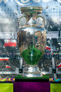 UEFA cup trophy Royalty Free Stock Images