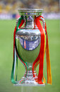 UEFA EURO 2012 Football Trophy (Cup) Stock Photo