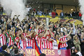 UEFA Europa League Final Bucharest 2012 Royalty Free Stock Photo