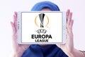 Uefa europa league logo Royalty Free Stock Photo