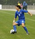 UEFA FEMALE SOCCER CHAMPIONSHIP 2009,ITALY-HUNGARY Royalty Free Stock Image
