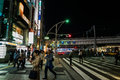 Ueno at night tokyo japan april is a district in tokyo s taito ward best known as the home of park and the tokyo Stock Image