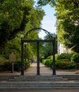 UGA Arch In Spring
