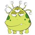 Ugly Green Alien