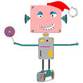 Ugly robot Royalty Free Stock Photo