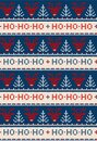 Ugly sweater Merry Christmas party ornament background seamless pattern Royalty Free Stock Photo