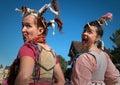 Ugly Wenches at Arizona Renaissance Festival. Royalty Free Stock Photo