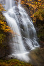 Uguna waterfall gorbea natural park bizkaia spain Royalty Free Stock Image