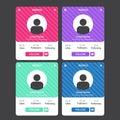 UI/UX Social Media User Profile Design