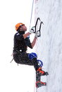 Ice Climbing World Cup Royalty Free Stock Photo