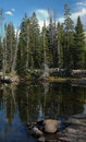 Uinta Mountains scene - Lakes Stock Image