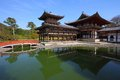 Uji kyoto japan famous byodo buddhist temple unesco world heritage site phoenix hall building Stock Photography
