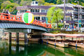 Uji kyoto japan on the river Royalty Free Stock Images